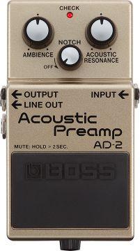 Boss AD-2 Acoustisen kitaran etuvahvistin
