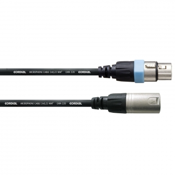 Cordial CCM 0,5 FM mikrofonikaapeli