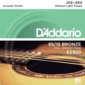 D'Addario XL EZ920 Light .012 -.054