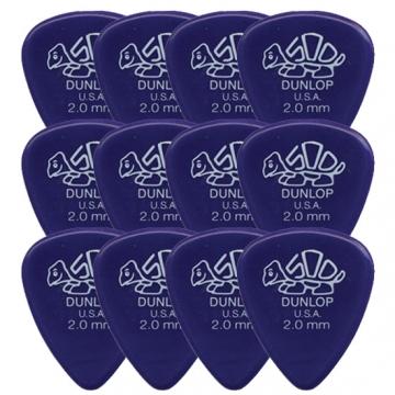 12-pack Dunlop Delrin Standard 2.00mm