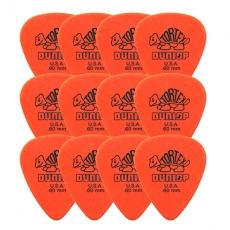 12-pack Dunlop Tortex 0.60mm 12-pack