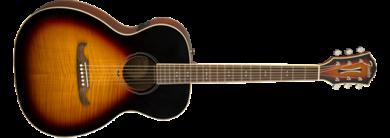 Fender FA-235E Concert Sunburst akustinen kitara