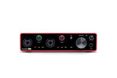 Focusrite Scarlett 4i4, 3rd generation USB-äänikortti