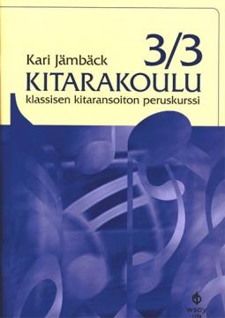 Kitarakoulu 3/3 - Kari Jämbäck