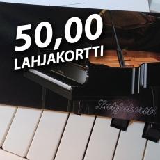 Lahjakortti 50 euroa