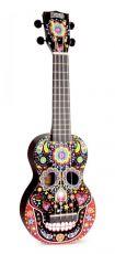 Mahalo sopraano ukulele -pääkallo