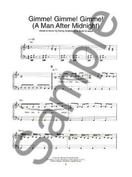 Mamma Mia! - Easy Piano