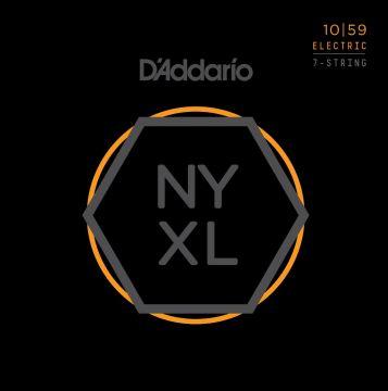 D'Addario NYXL 10|59 7-kieliselle