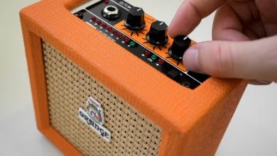 Orange Micro Crush -kitara combo