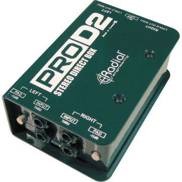 Radial Pro D2 Stereo Passive DI Box