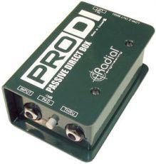Radial Pro DI Passivinen DI-Box
