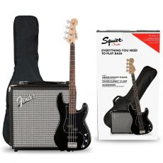 Squier Affinity PJ-Bass + Rumble 15 pack