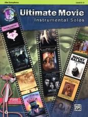 Alto sax: Ultimate Movie Instrumental Solos Alto Saxophone Level 2-3